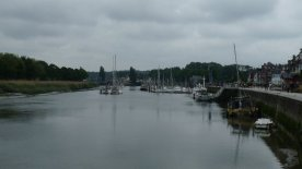 The harbour.