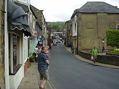 Pateley Bridge High Street (Wikimedia Commons)
