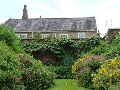 The walled garden.