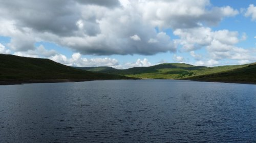 Scar House Reservoir, scene of our bird-watching walk.