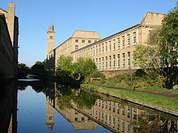 Salts Mill, Saltaire (image courtesy of Wikimedia Commons)