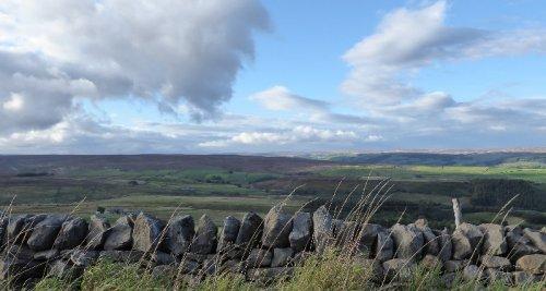 Countryside near Keighley.