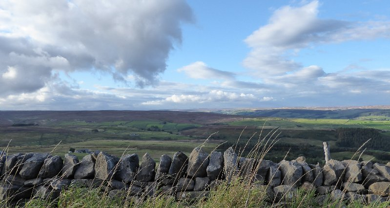 Countryside near Keighley.