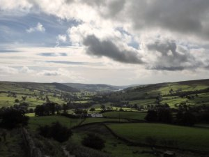 The view from Middlesmoor, Nidderdale.