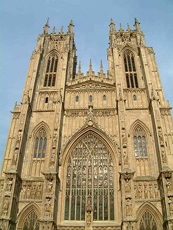 West Towers, Beverley Minster: Wikimedia Commons