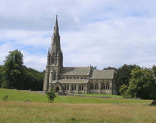 St. Mary's Church, Studley Royal (Wikimedia Commons)