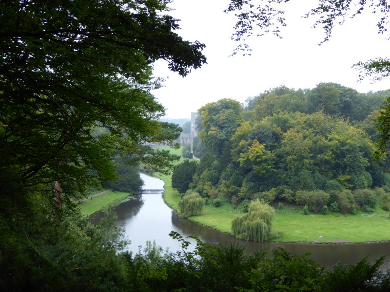 Walk round the grounds of Studley Royal, and this will be your first sighting of Fountains Abbey.