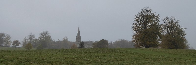 Looking across at St.Mary's from the Deer Park.