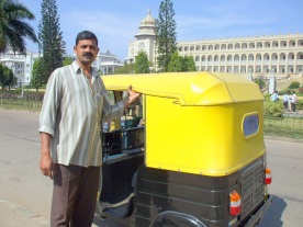 My first friend in Bangalore: the rickshaw driver who took me on a tour of the city