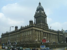 Leeds Town Hall: Wikimedia Commons