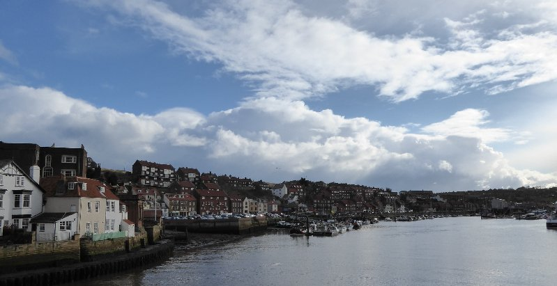 Whitby: the view anyone who's been there would recognise.