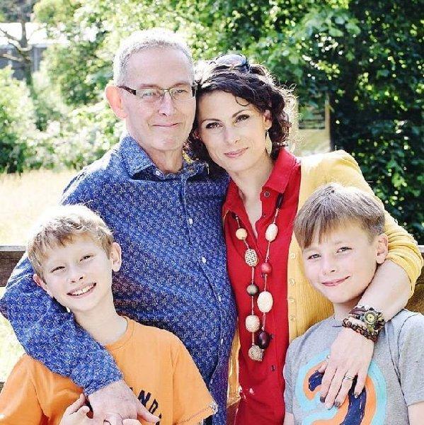 Phil, Ellie, Ben and Alex - a recent photo.