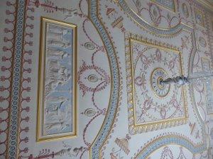 Plasterwork ceiling.