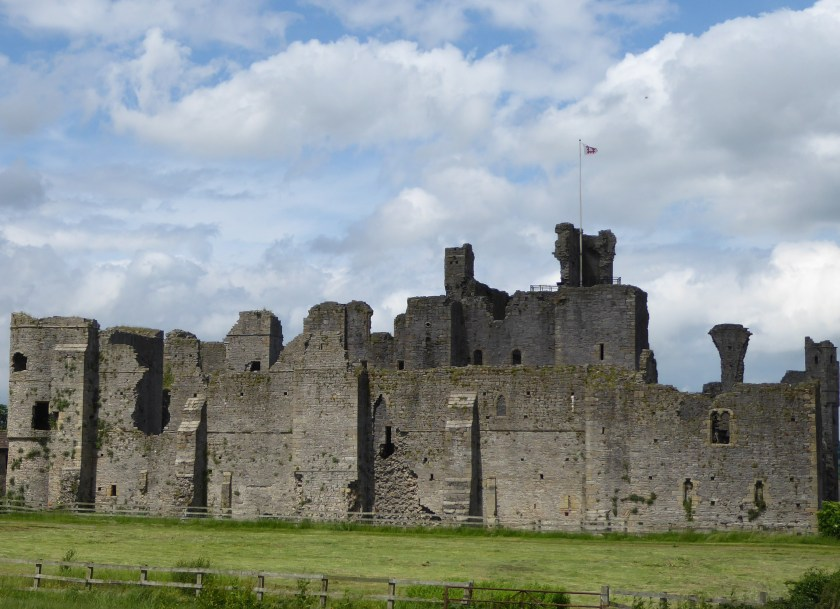 The ruins of Middleham Castle.