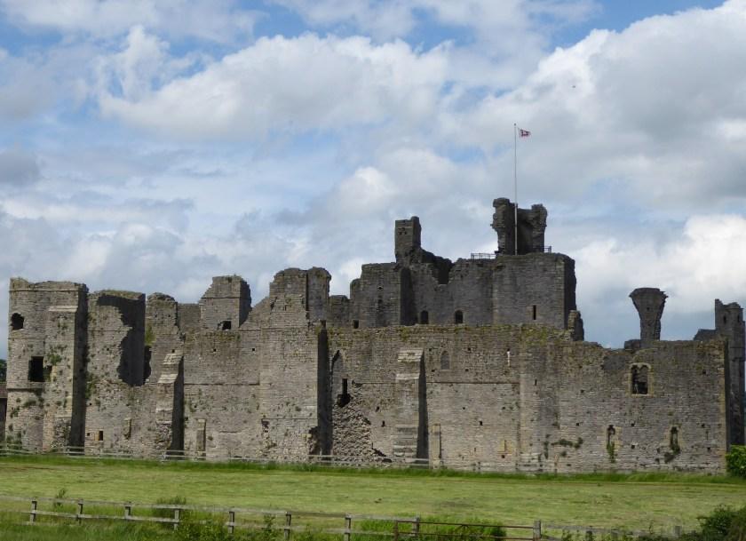 The ruins of Middleham Castle.