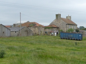 If it survives the cut, you'll hear Clare painting a word-portarit of this farmhouse during the programmme.