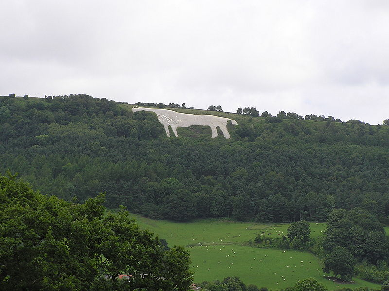 Kilburn White Horse (Wikimedia Commons)