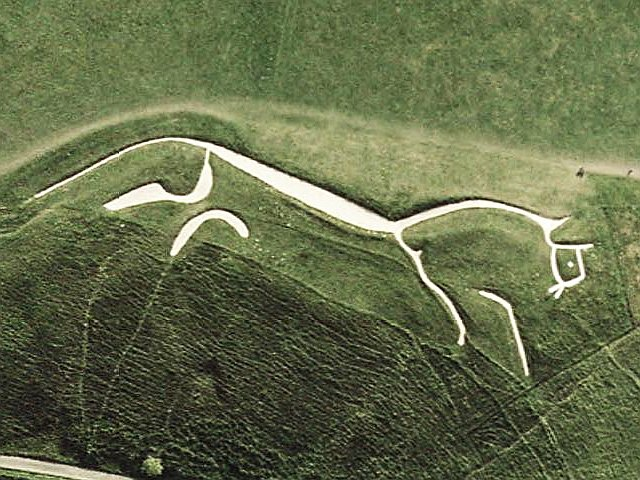 Uffington White Horse (Wikimedia Commons)