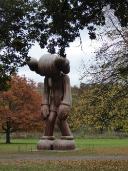 KAWS' 'Small Lie'.