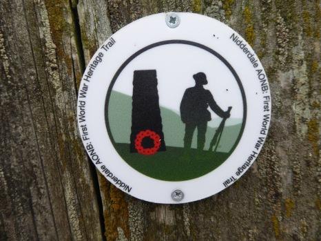 AONB Trail waymark