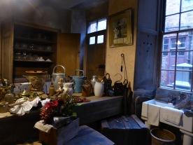 A working kitchen.