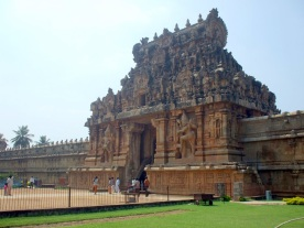 Thanjavur: Breehadeeswara Temple.