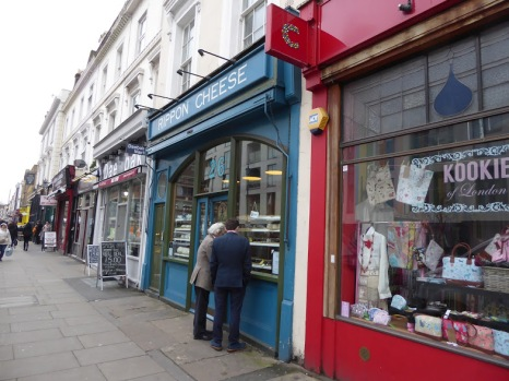 Local shops sell fine cheeses, fine antiques, and the charity shops have goods with £200 price tags.