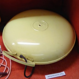 A 1960s Belling bed warmer. Known in our family as 'the bomb'.