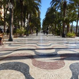 Esplanada de España, Alicante