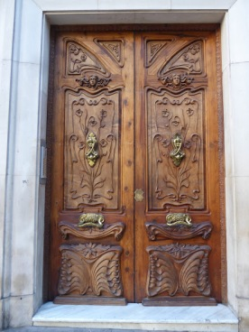 Doorway, Alicante