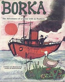 John Burningham's 'Borka' (Wikimedia Commons)