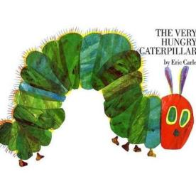 Eric Carle's Very Hungry Caterpillar (Wikimedia Commons)