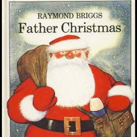 Raymond Briggs' Father Christmas (Wikimedia Commons)