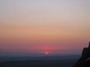 The summer solstice at Montségur.
