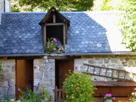Gimel-les-Cascades, a few miles from Corrèze.