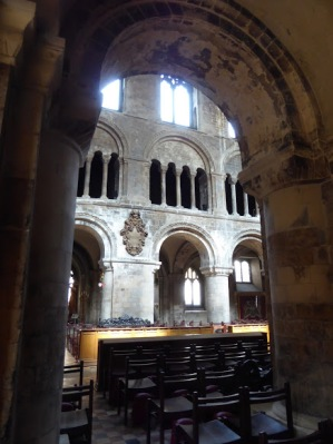 Inside St. Bartholomew the Great.