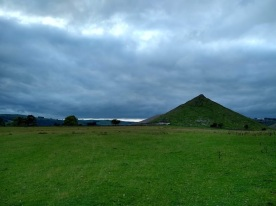 Thorpe Cloud. It's a tough triangular hill, formed of marine skeletons which haven't easily eroded.