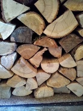 Not free wood. But it burns brighter, and for longer.