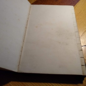 And here are some of the blank pages.
