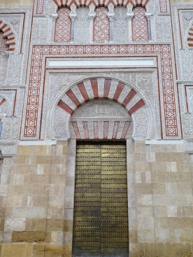 The Mezquita: a side door.