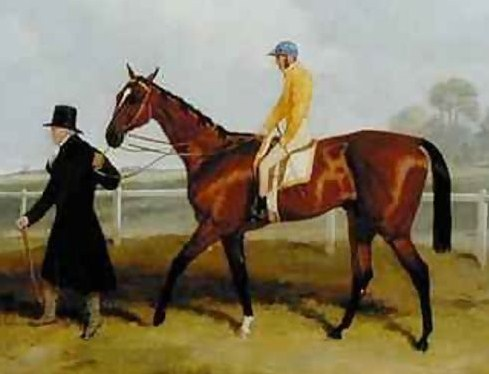 Sir Tatton Sykes on horseback (Wikimedia Commons)