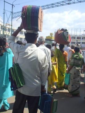 Zebra crossing in Mysore.