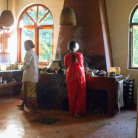 Kitchen at Gurukula