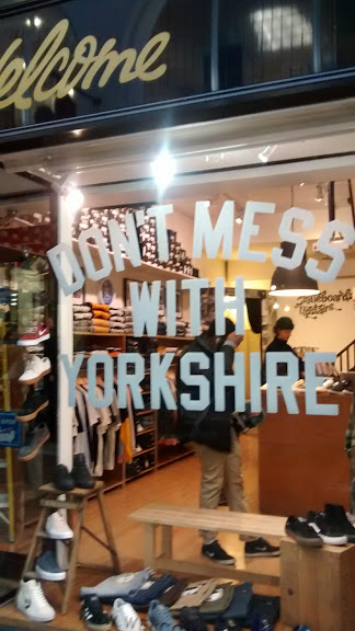 No, just ...don't. A shoe shop in Leeds.