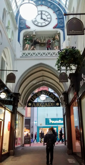 Thornton's Arcade in Leeds.