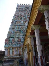 Temple detail at Kunbakonam.