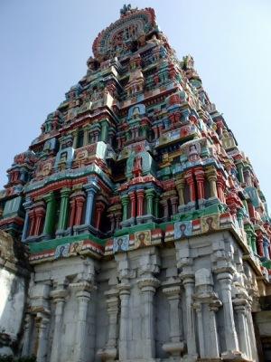 View of Nageshwara Temple, Kumbakonam