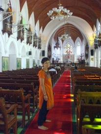 Inside St. Mary's Chennai.