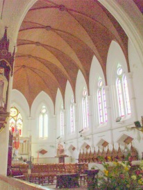 Inside San Thome Cathedral