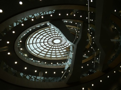 Liverpool Central Library, September.